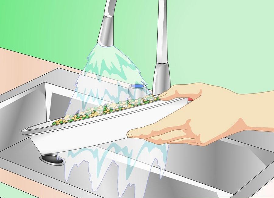 شستن وسایل آکواریوم