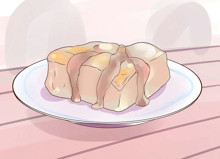 دادن کیک به سگ