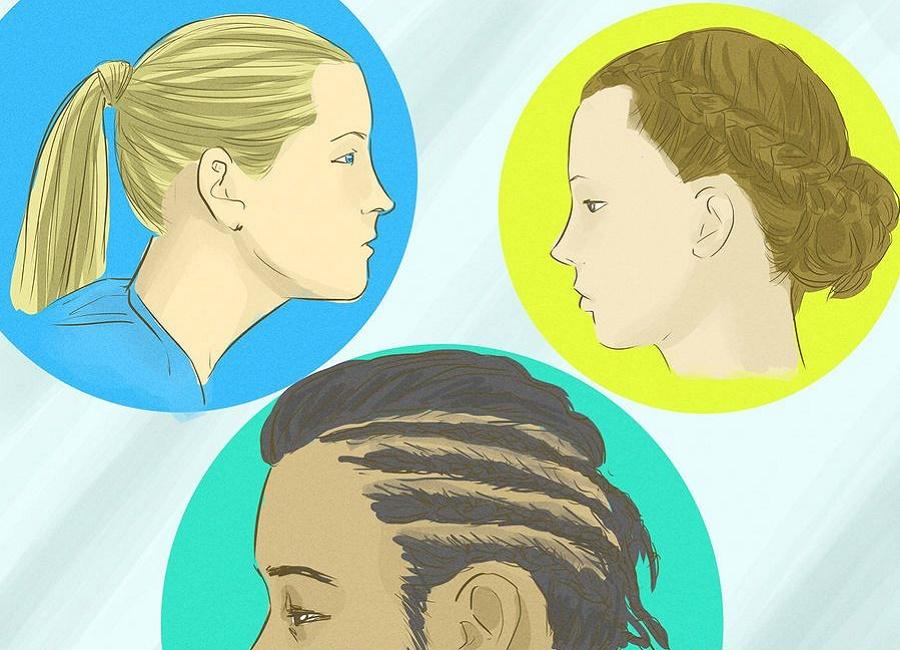 کشیدن مو ریزش مو
