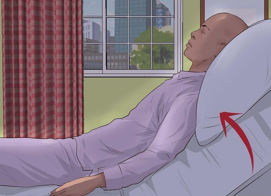 خوابیدن با رفلاکس معده