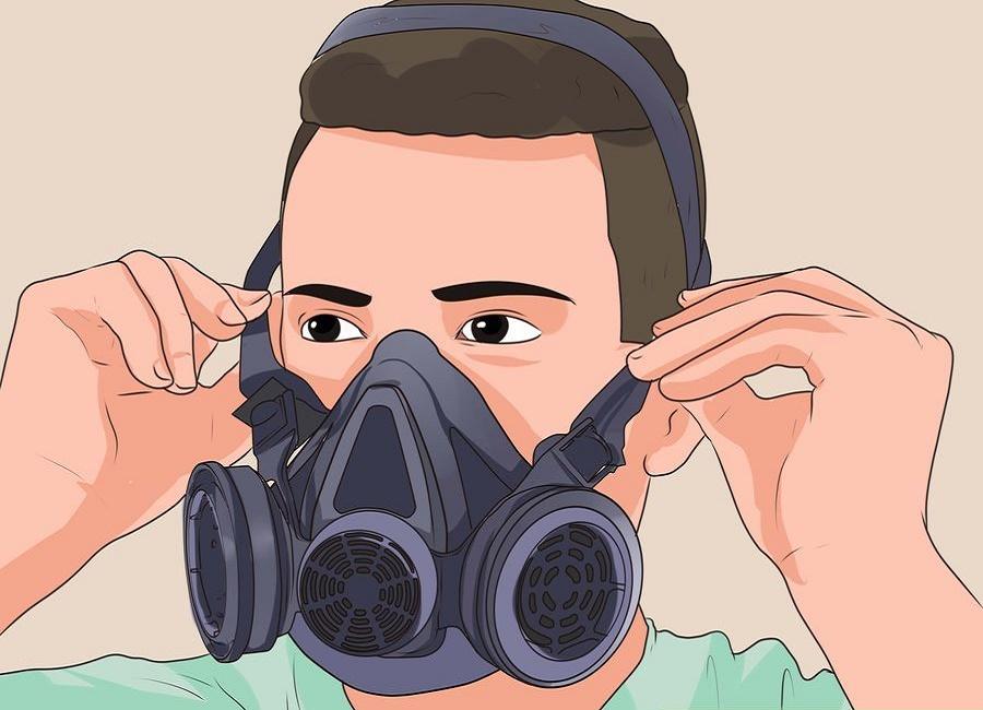 ماسک ضد آلودگی هوا