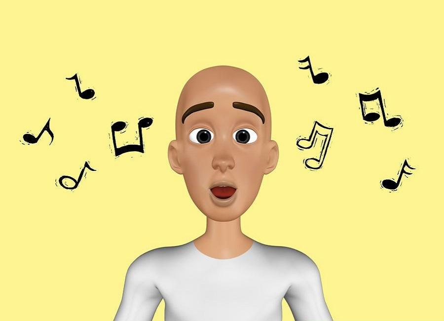 آواز خواندن تقویت نفس