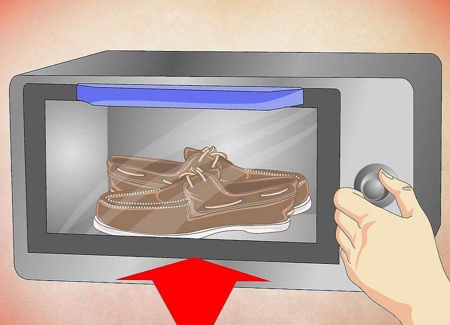حرارت دادن کفش