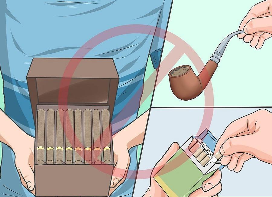 مواد مضر در دخانیات