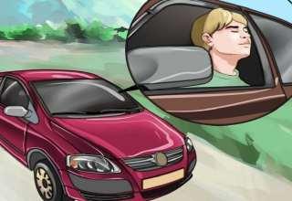 درمان حالت تهوع در ماشین