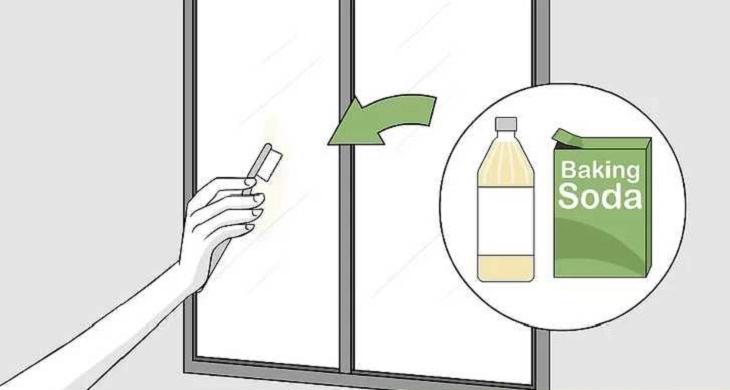 جرم گیری آینه و شیشه