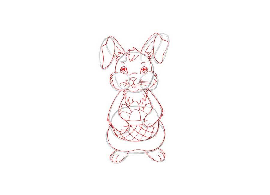 کشیدن خرگوش با ساده ترین روش