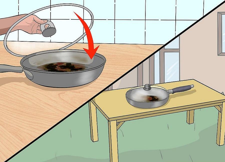 تمیز کردن جدن سوخته
