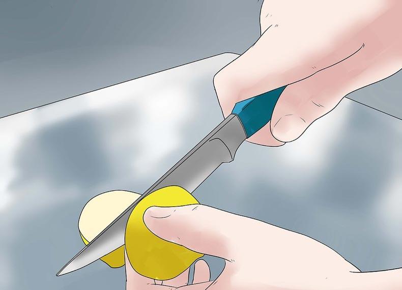 تمیز کردن آلومینیوم با لیمو