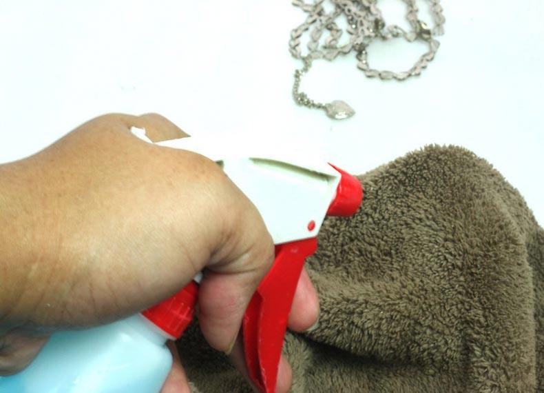 پاک کردن نقره