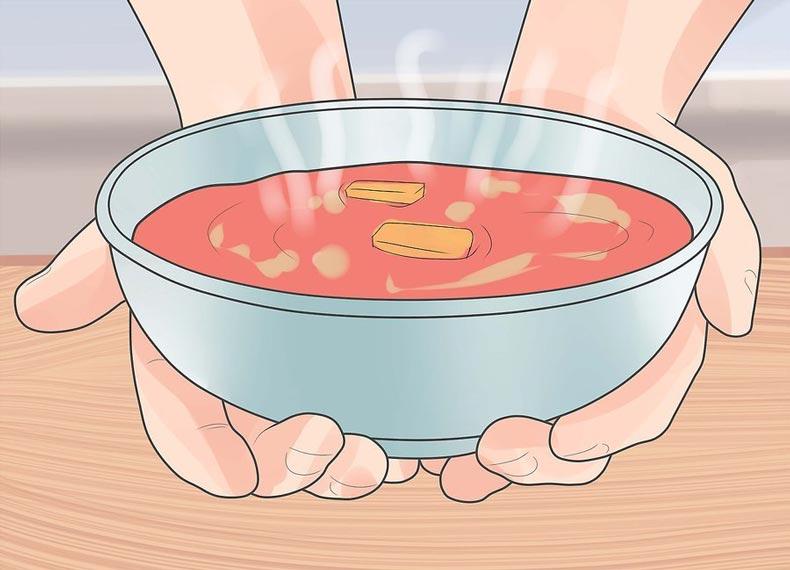 سوپ مرغ درمان سرماخوردگی