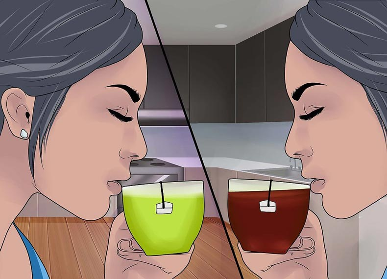 چای جرم گیر دندان