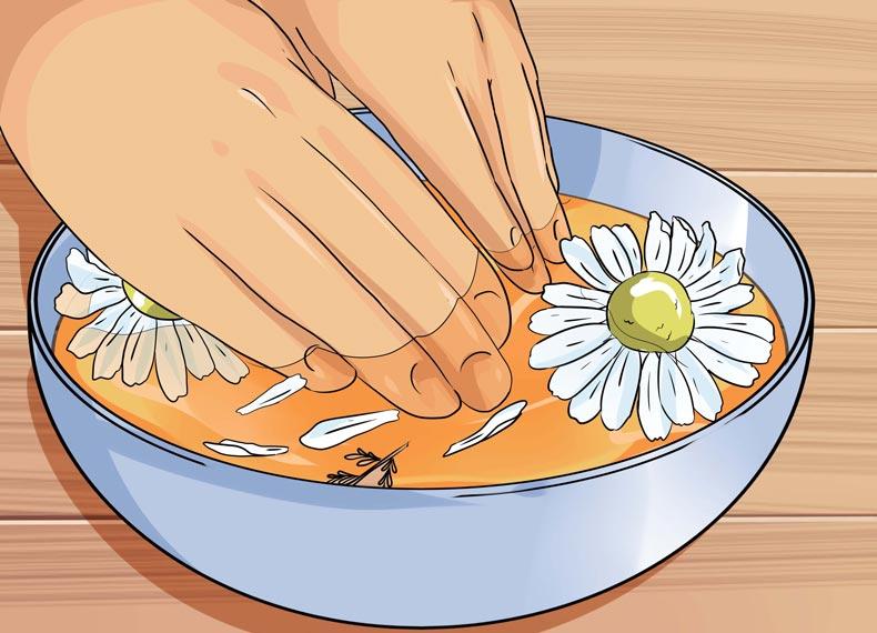 درمان عرق کف دست در طب سنتی