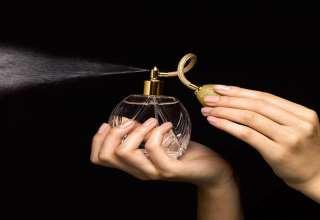 روش صحیح عطر زدن