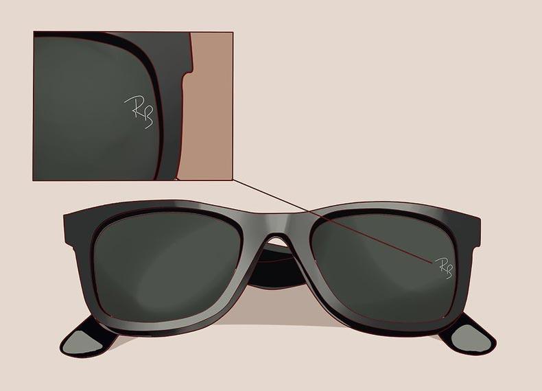 شماره سریال عینک ریبن