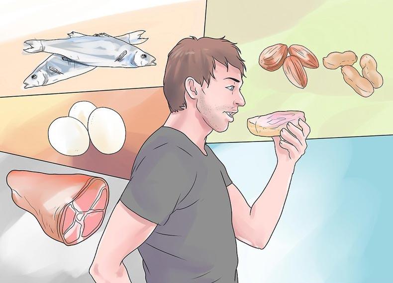 مواد غذایی برای رشد ریش