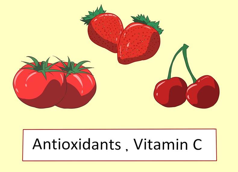 ویتامین برای درمان آفتاب سوختگی