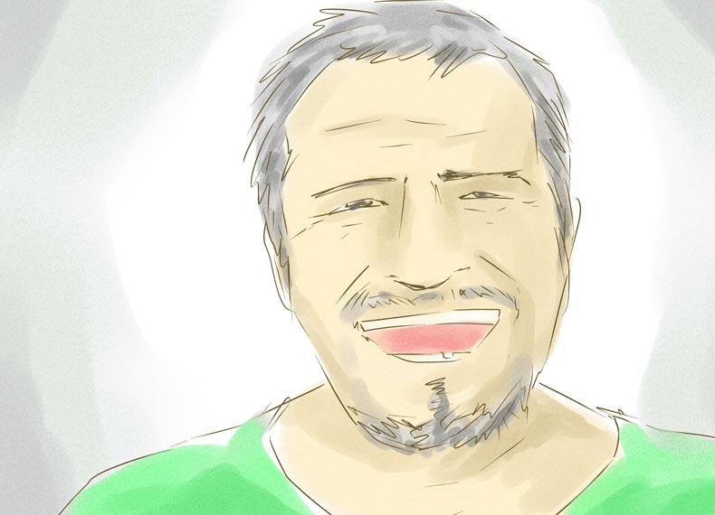 درمان سفیدی ریش