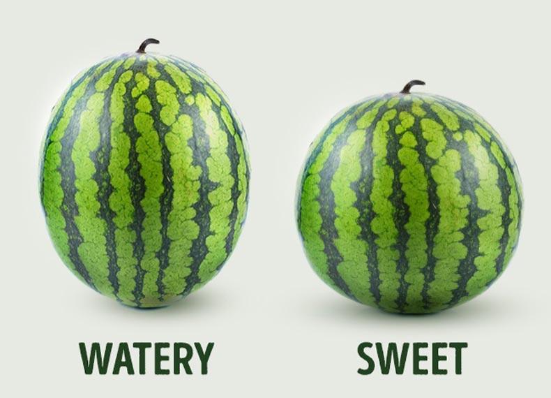 هندوانه شیرین و آبدار