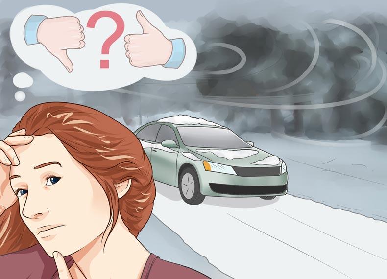 رانندگی در شرایط سخت