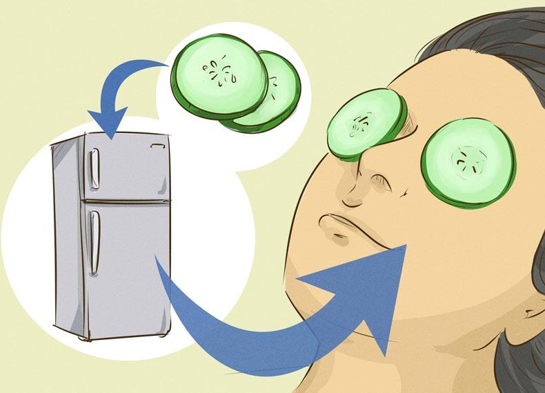 درمان خانگی سیاهی چشم