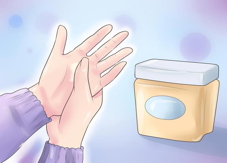 درمان پوست پوست شدن صورت