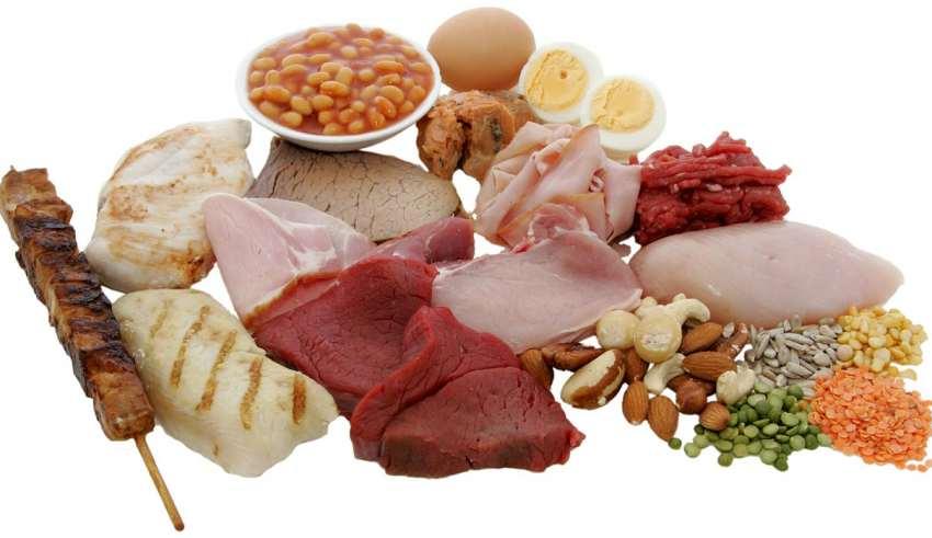مصرف پروتئین طبیعی