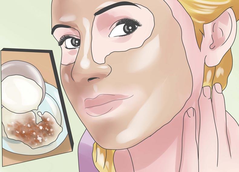 ماسک ضد چروک پوست