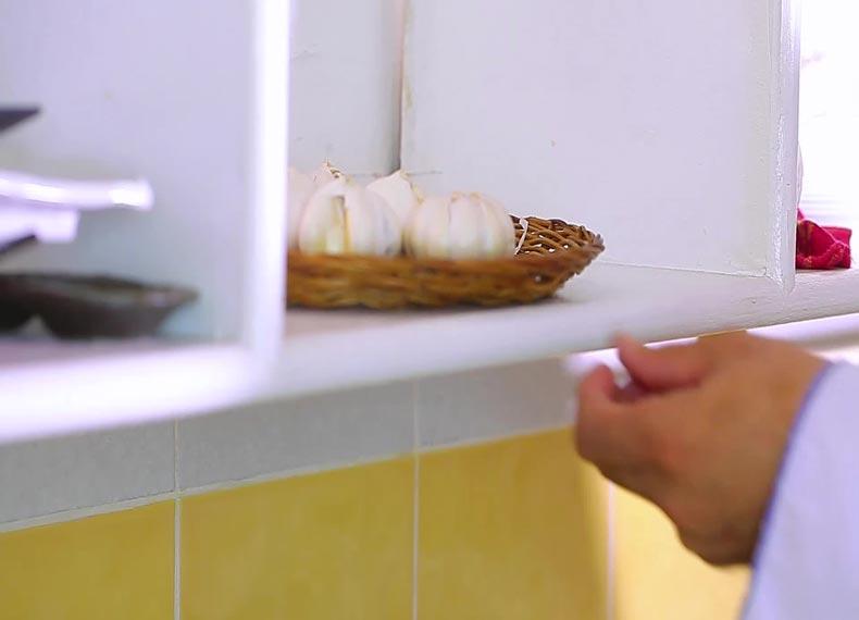 چگونه سیر را خشک کنیم