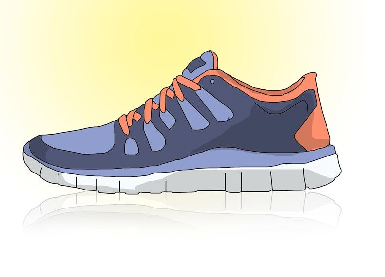 کفش مخصوص تردمیل