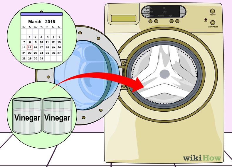 بوی سوختگی ماشین لباسشویی