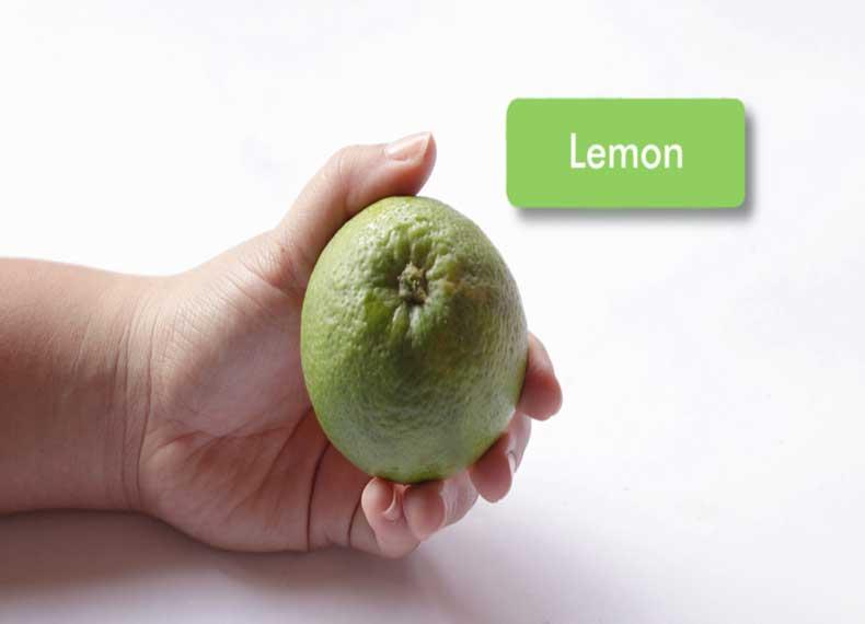 لیمو ضد جوش سر سیاه بینی