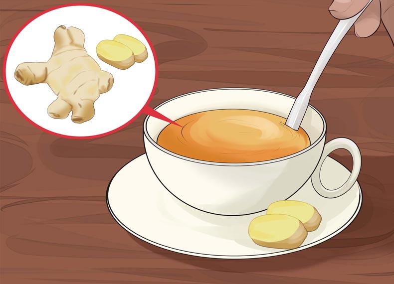 درمان سرماخوردگی با زنجبیل