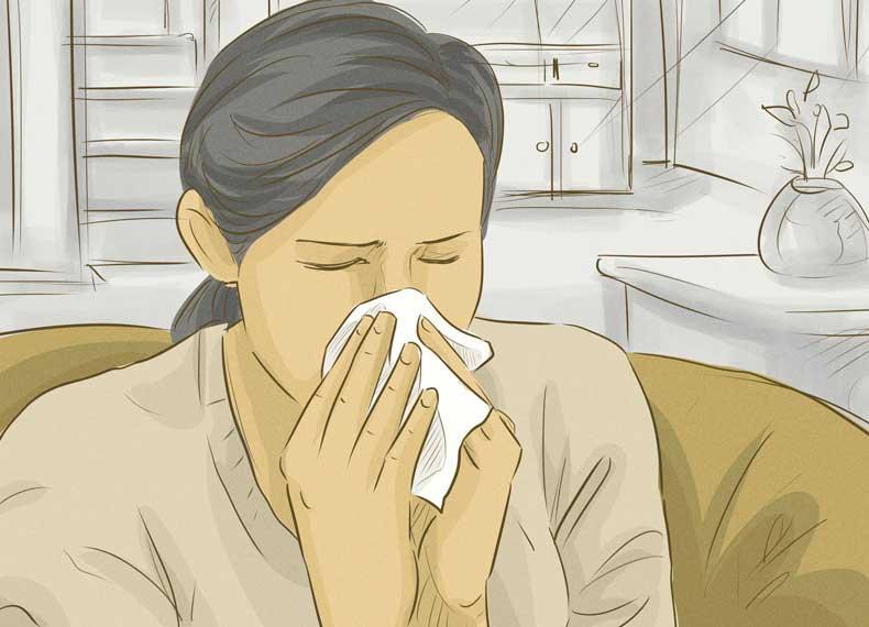 درمان آبریزش بینی سرماخوردگی