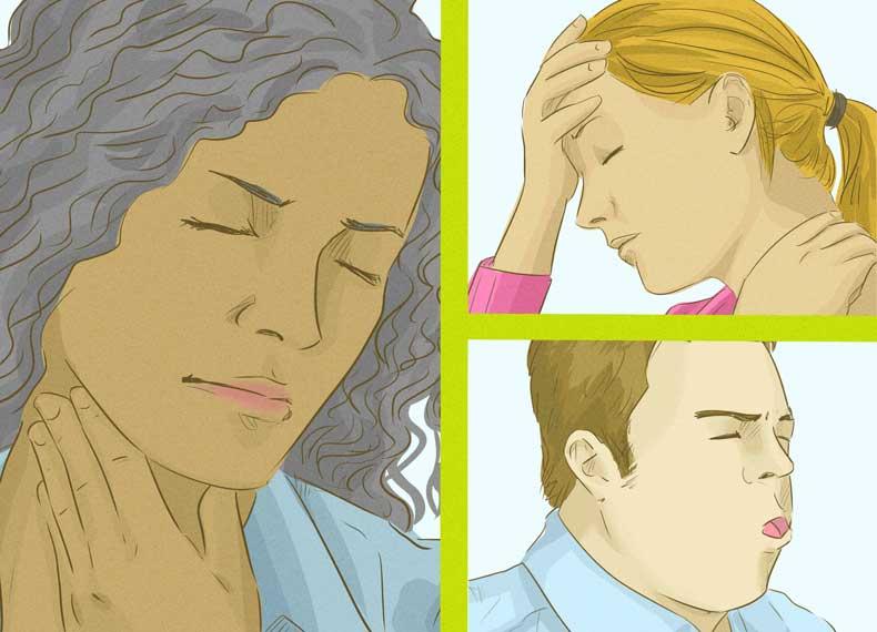درمان سردرد سرماخوردگی