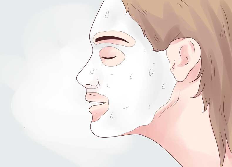 ماسک ضد جوش صورت