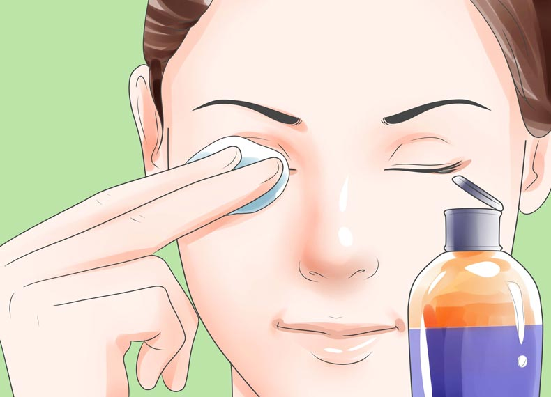 کاهش قطعی پف چشم