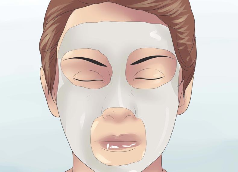 ماسک بعد از بخور صورت