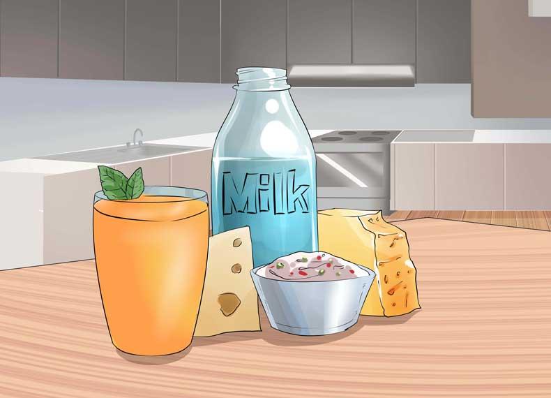 شیر حاوی ویتامین d