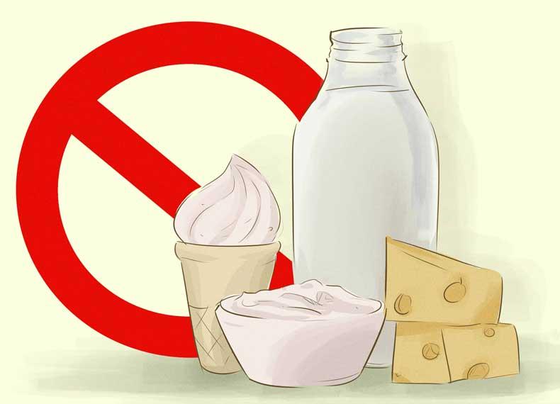 شیر و نفخ معده