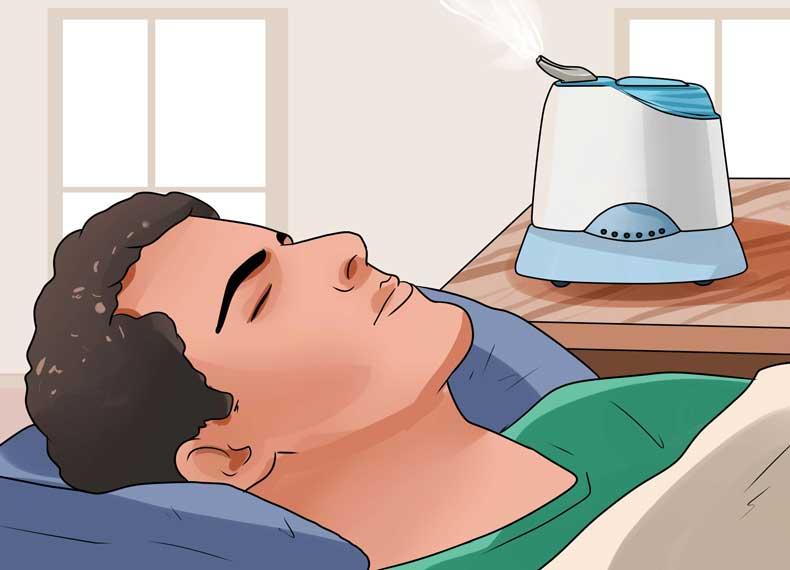 درمان سینوزیت با بخور