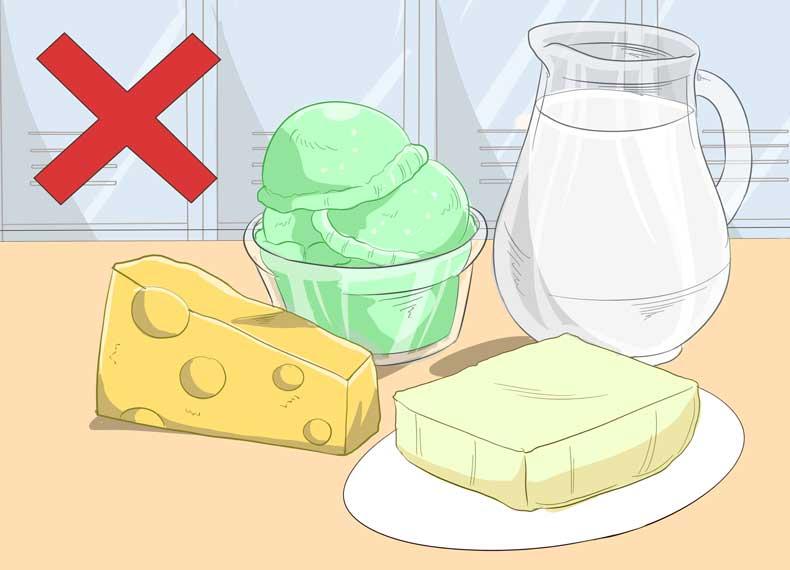 مواد غذایی مضر برای گلودرد