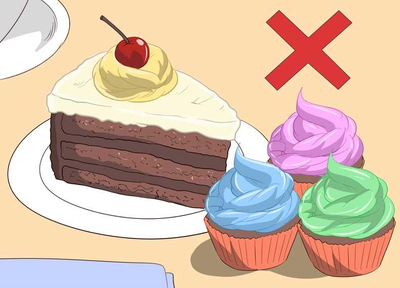 غذای مضر برای گلودرد