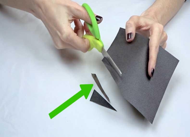 طرز تیز کردن قیچی