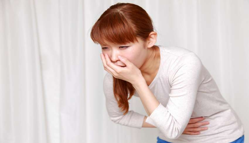 درمان حالت تهوع در خانه
