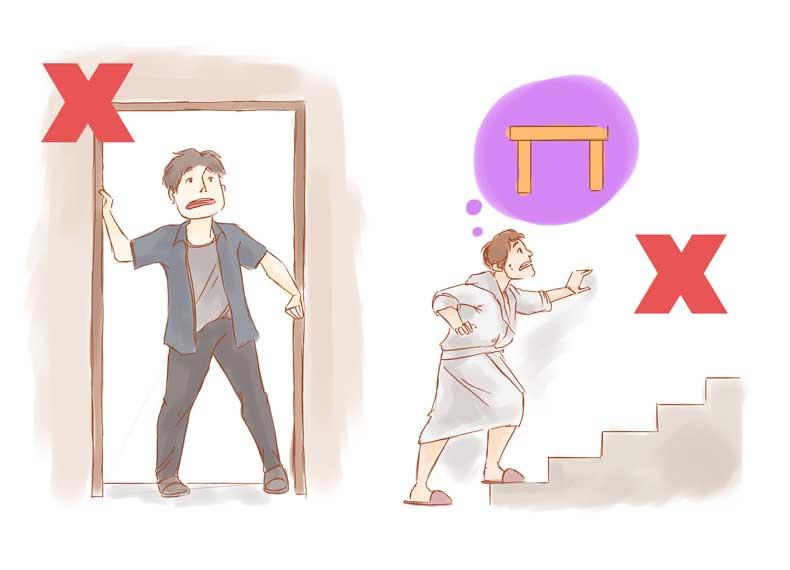 کارهایی که نباید هنگام زلزله انجام داد