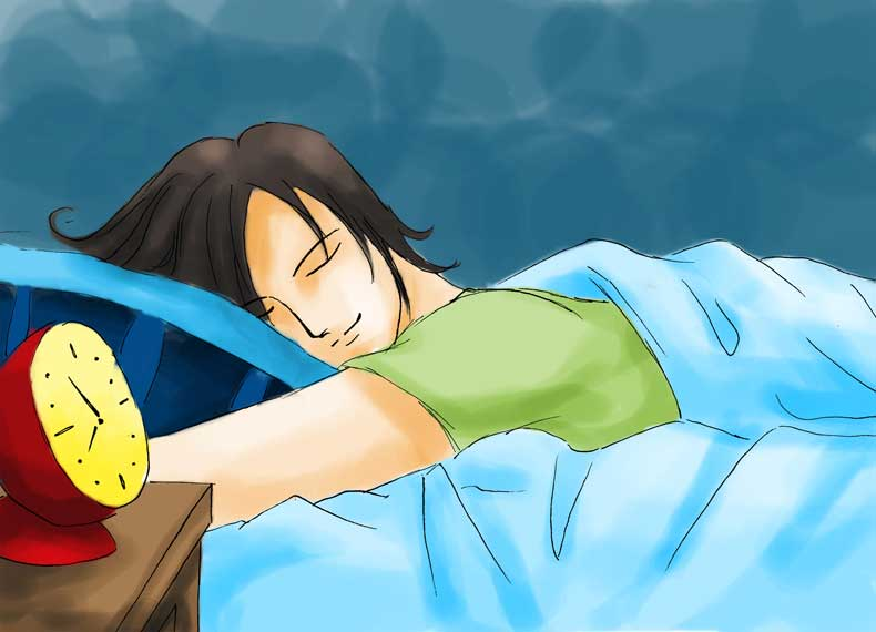 استراحت برای درمان مریضی