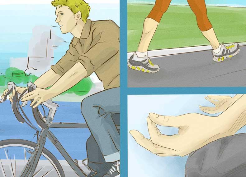 ورزش برای التهاب معده