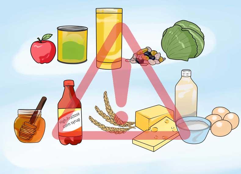 مواد غذای مفید سندروم روده تحریک پذیر
