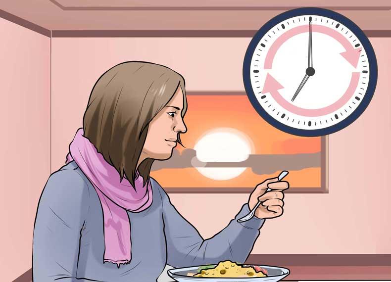 زمان غذا خوردن برای درمان ibs